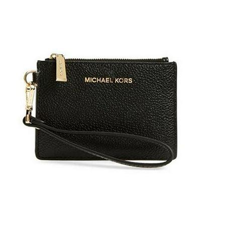 feb08160661f Michael Kors - MICHAEL Mercer Small Coin Purse Black 32T7GM9P0L-187 -  Walmart.com