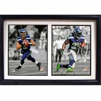 NFL Seattle Seahawks Dynamic Duo 12x18 Double Frame