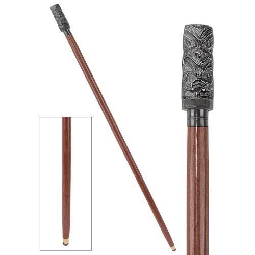 Design Toscano Tiki Luau Single Point Cane