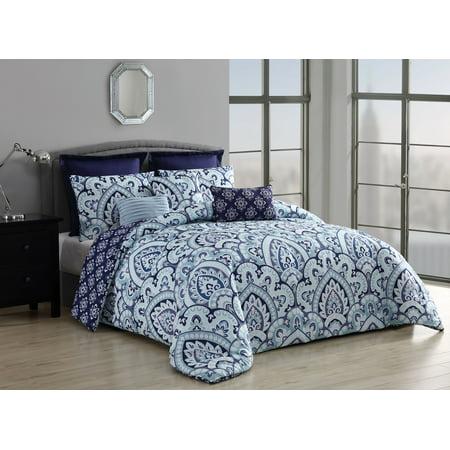 Palma 8pc Comforter with Euro Shams