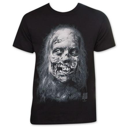 Walking Dead Jumbo Zombie Face Men's TV Show T-Shirt