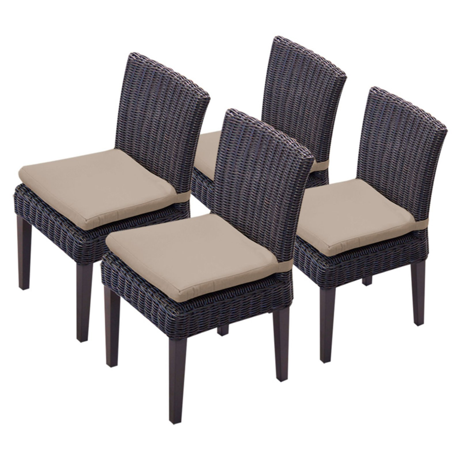 TK Classics Venice Outdoor Dining Side Chair Set