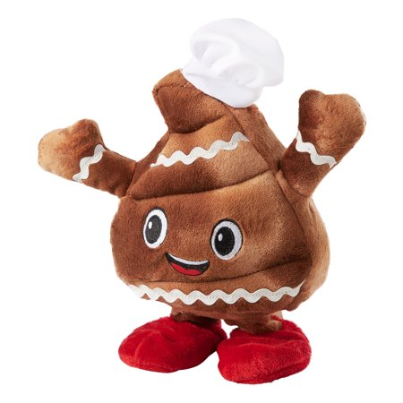 Holiday Time Animated Plush, Singing and Dancing Poop ()