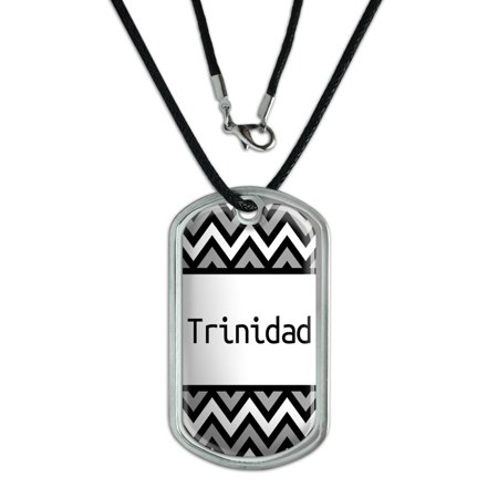Male Names - Trinidad - Dog Tag