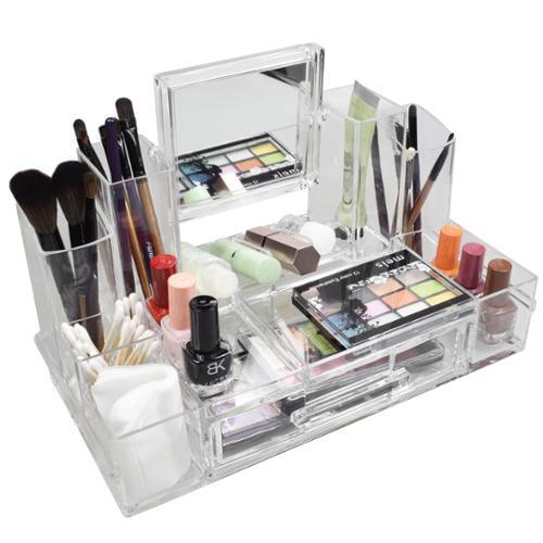 Ikee Design Luxury Cosmetic Makeup Acrylic Organizer