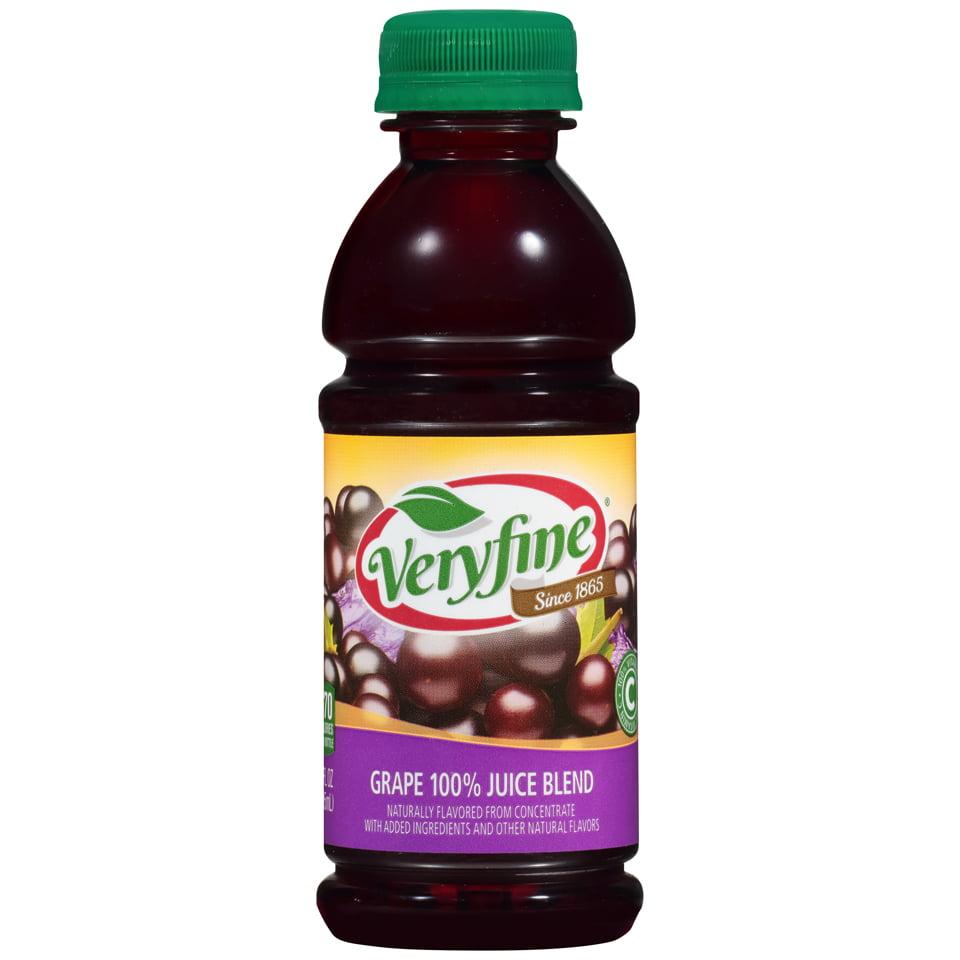 Veryfine Beverage Grape, 10 Oz