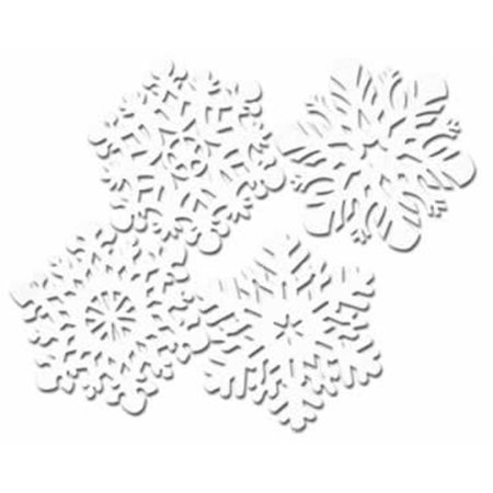 Beistle - 22933 - Die-Cut Snowflakes - Pack of 24 - image 1 de 1