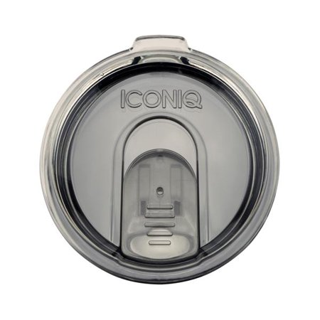 Replacement Lid with Splash-Proof Cover for 20 Ounce Tumblers   Ozark Trail and Yeti Rambler Compatible (Smoke) for $<!---->