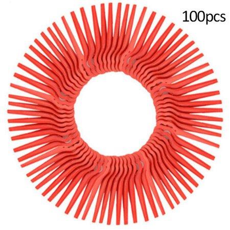 100PCS Plastic Grass Trimmer Blades Garden Lawn Mower Cutter Replacement Accessories Tool Grass Shear Replacement Blade
