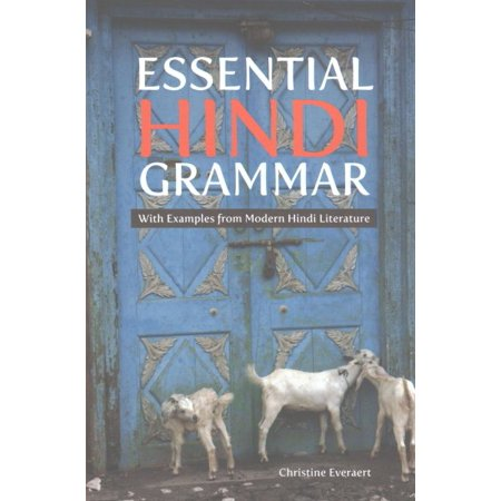 Essential Hindi Grammar : With Examples from Modern Hindi
