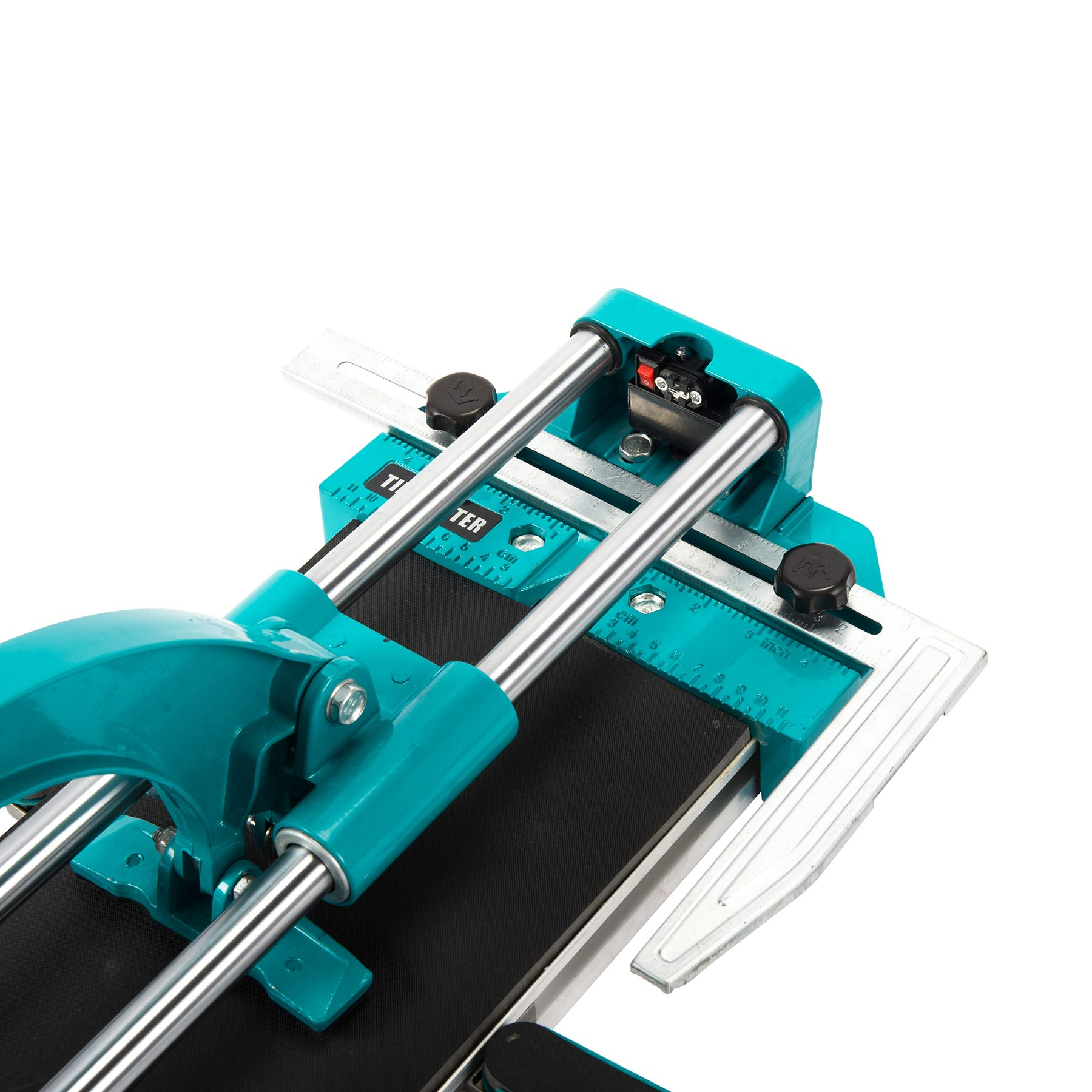 "48"" Manual Tile Cutter Cutting Machine Durable Adjustable Laser Guide"