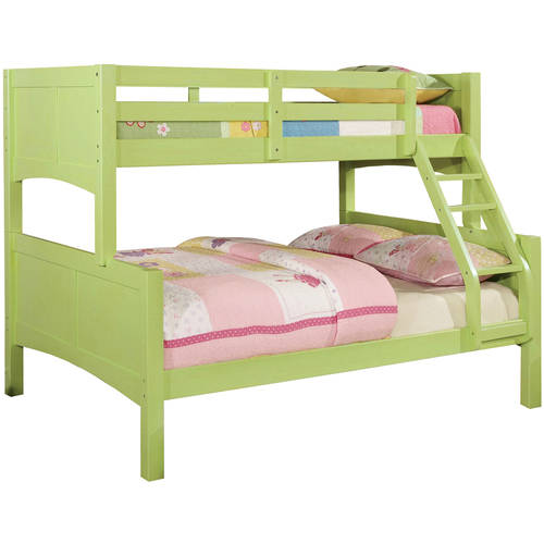 Furniture of America Melissa Twin Over Full Youth Bunk Bed, Multiple Colors Available