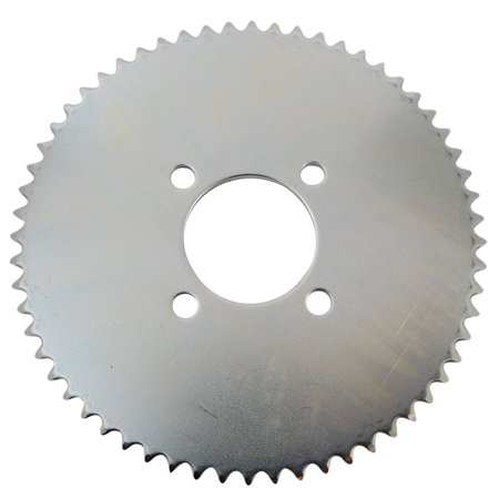 469 Steel Plate Sprocket, To be used on 35 chain with 2 center hole and has popular four bolt hole Indus pattern with mounting holes 2 apart By Rotary (2 Hole 4 Centers)