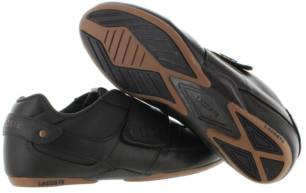 ee127d7365d801 Lacoste - Lacoste Mens Protected PRM Sneakers in Dark Brown 10 M US -  Walmart.com