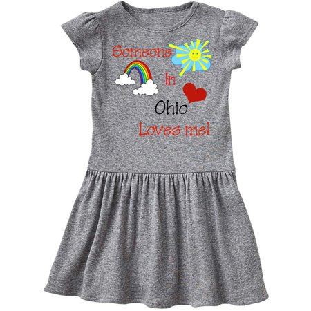Ohio Uniform - Someone in Ohio loves me! Toddler Dress