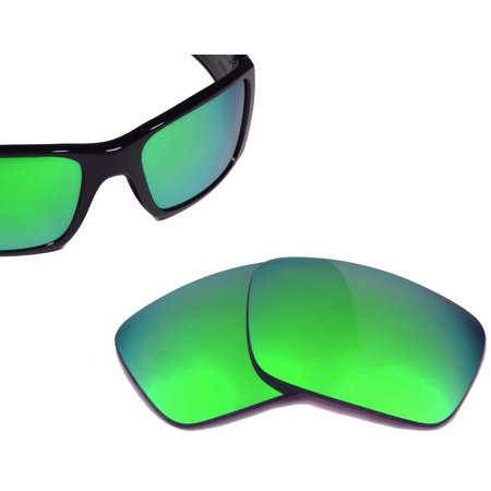 Oakley Fuel Cell (FUEL CELL Replacement Lenses Polarized Green Mirror by SEEK fits)