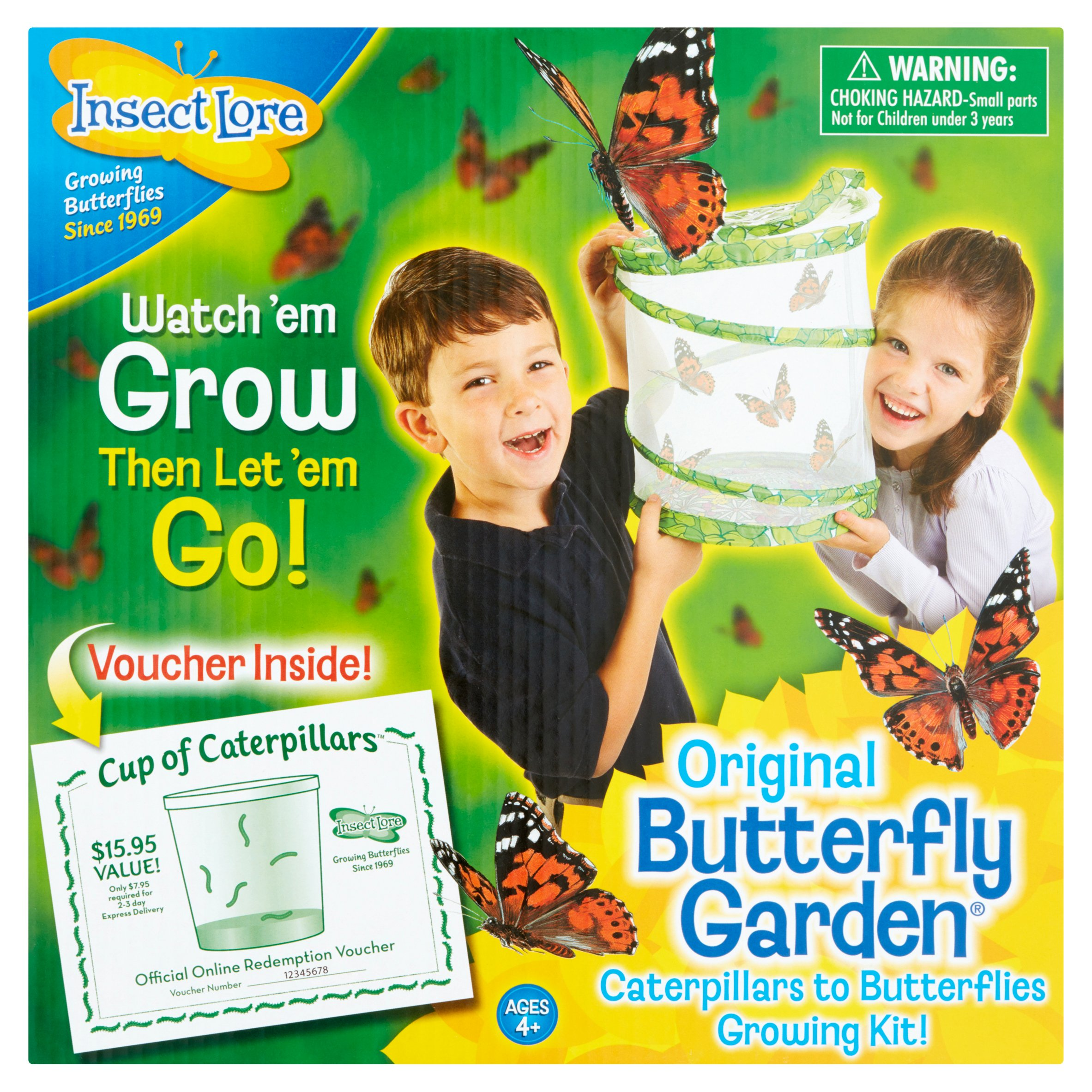 Insect Lore Original Butterfly Garden Caterpillars To Butterflies