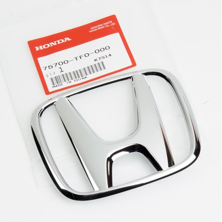 - Genuine OEM Honda Civic 4Dr Sedan Fit Front Grille H Emblem 75700-TF0-000