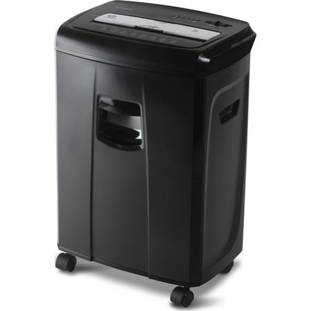 Aurora 12-Sheet Crosscut Paper and Credit Card Shredder with Pullout