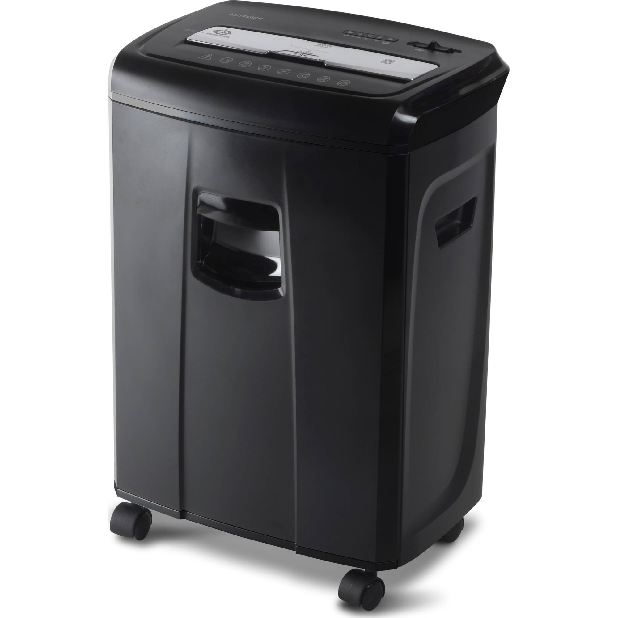 Merveilleux Aurora 12 Sheet Crosscut Paper And Credit Card Shredder With Pullout Basket