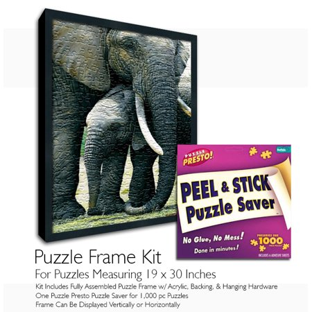 Puzzle Presto! Peel & Stick Puzzle Saver: The Original and Still the Best  Way to Preserve Your Finished Puzzle!