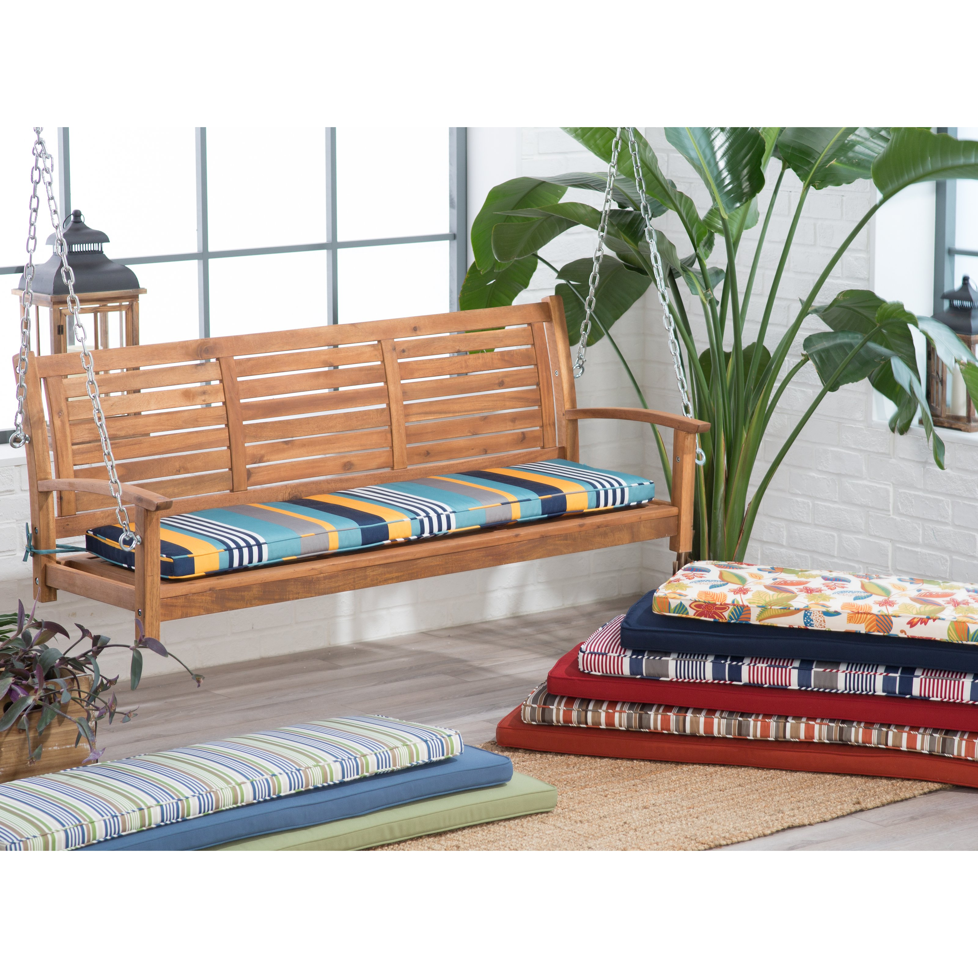 Porch Swing Glider Outdoor Cushions