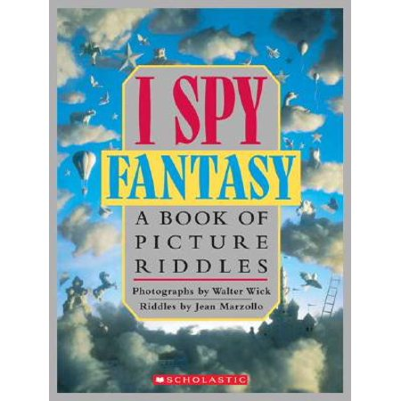 I Spy Fantasy : A Book of Picture Riddles](Halloween Riddles Mysterious Griddlers)