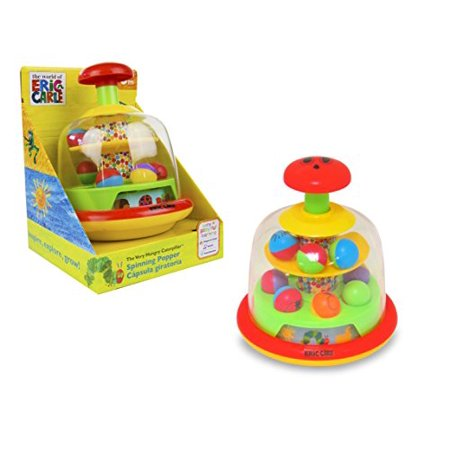 World of Eric Carle, The Very Hungry Caterpillar Push and Spin Popper Toy (Push Popper Toy)
