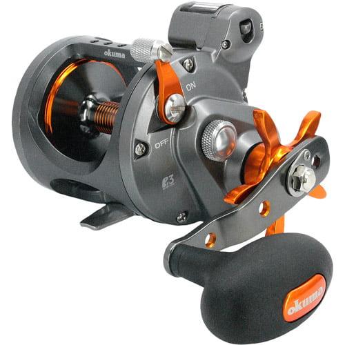 Okuma Cold Water Linecounter Reel, 2+1 Ball Bearings, 4.2:1, 20 lbs/420 yds