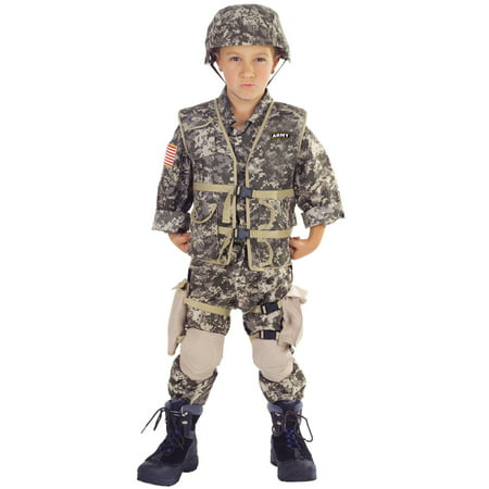 Army Ranger Deluxe Child Costume](Army Costume Kids)