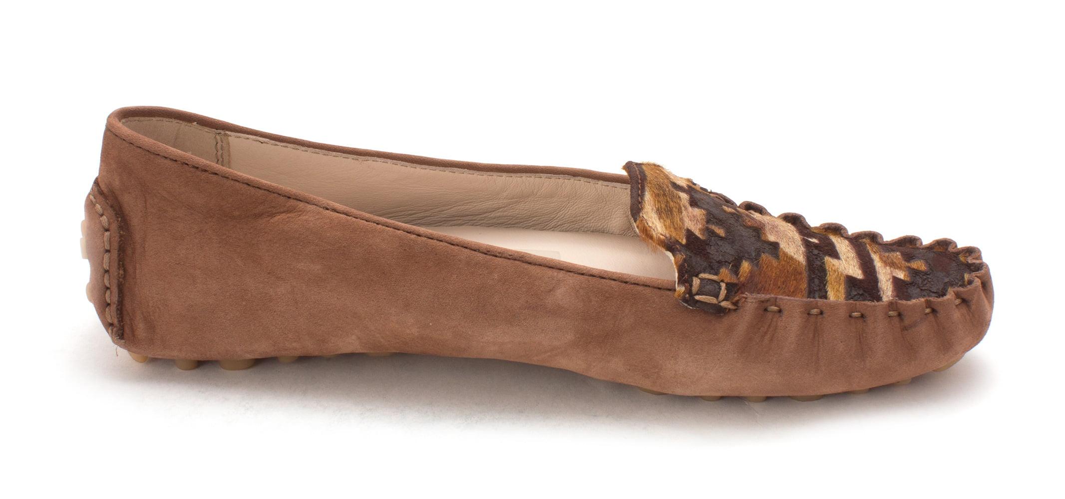 Cole Haan Womens Elishiasam Calf Hair Closed Toe, Brown Multi, Size 6.0