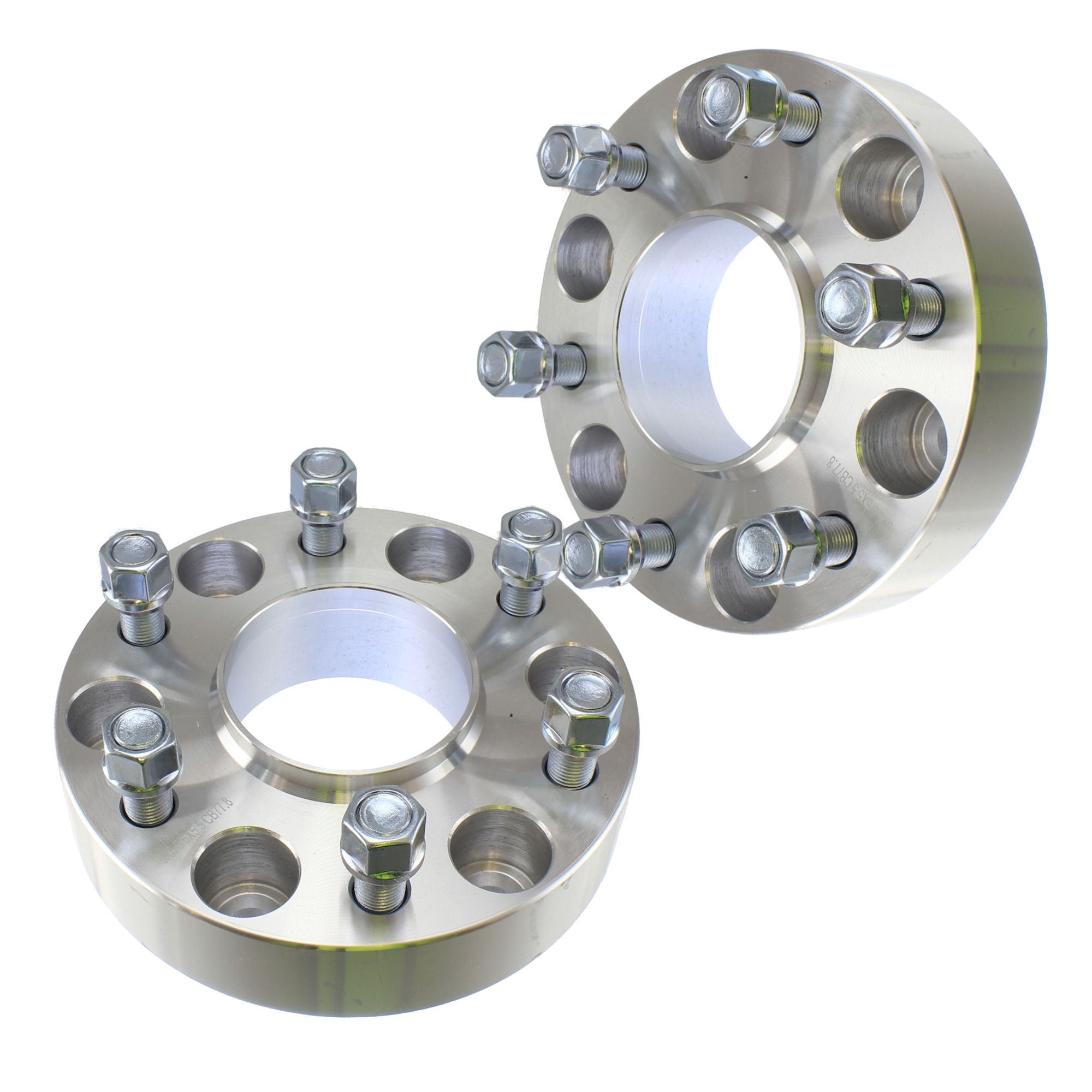 "(2) Chevy 1.50"" ( 38mm )  Hubcentric 6x139.7 Wheel Spacers Fits Silverado Tahoe Avalanche Suburban"