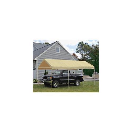 ShelterLogic 29522 10 ft.  ×20 ft.   Canopy, 1-. 38 inch  8-Leg Frame, Sandstone Cover