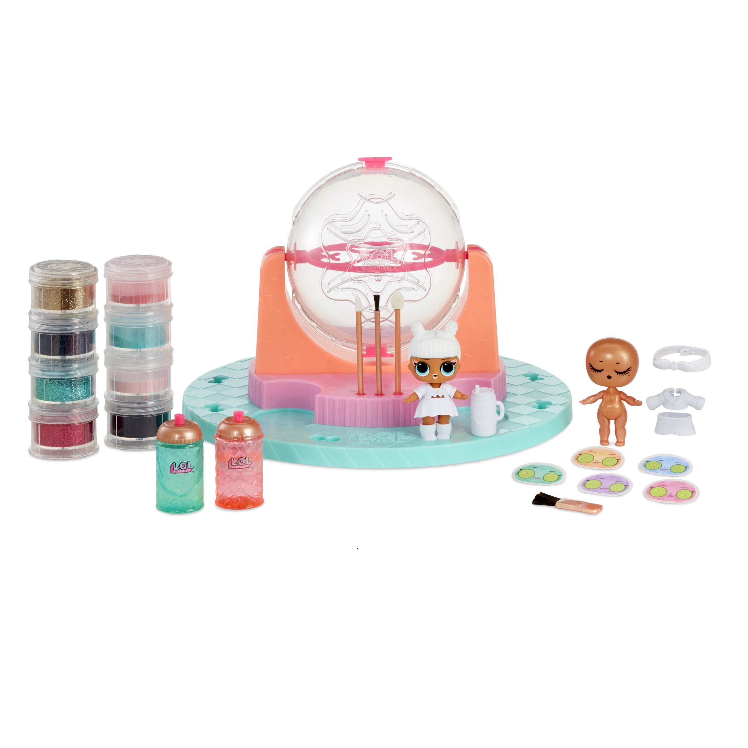L O L Surprise Diy Glitter Factory Playset With Exclusive Doll