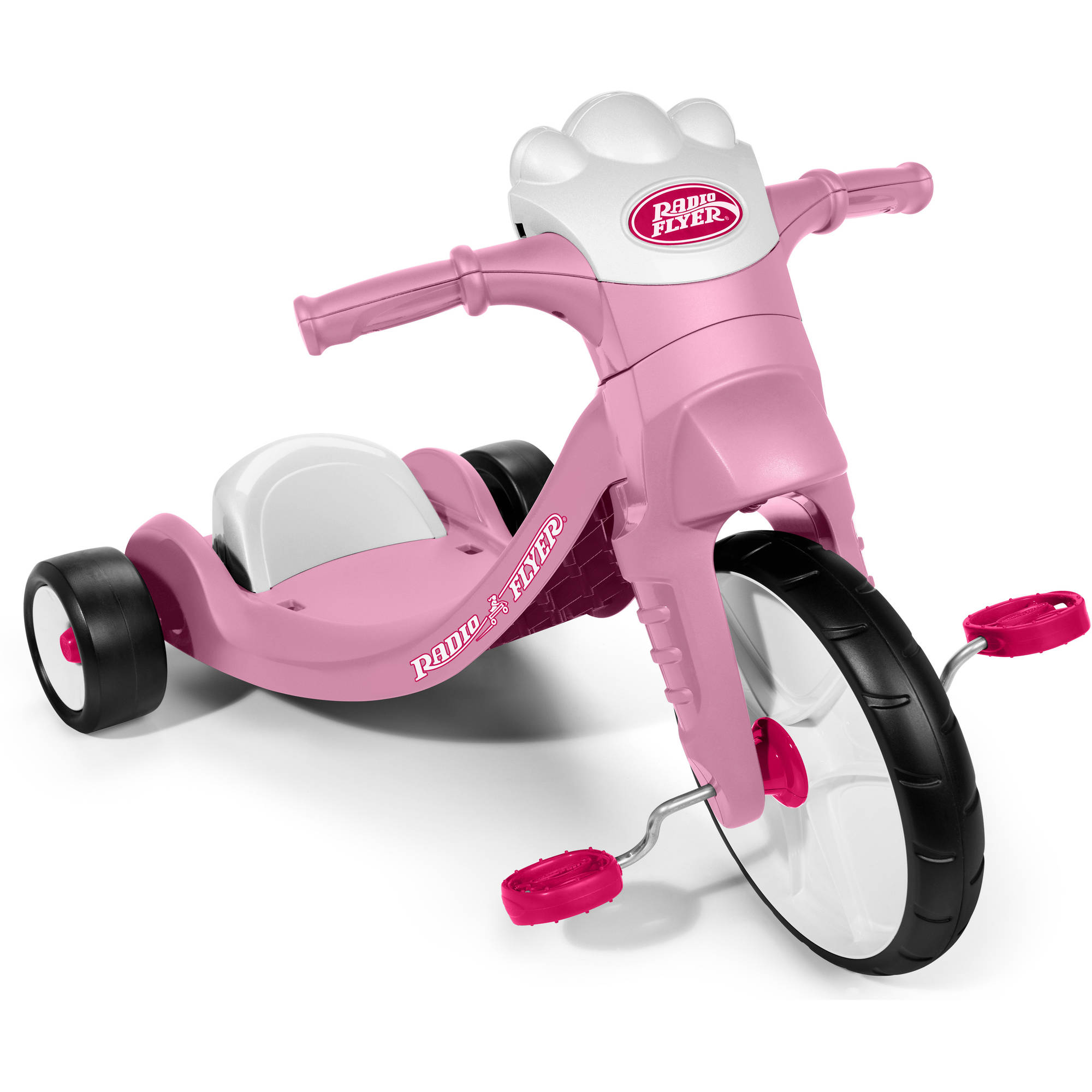 Radio Flyer Bike >> Radio Flyer My First Big Flyer With Lights Sounds Chopper Tricycle Red