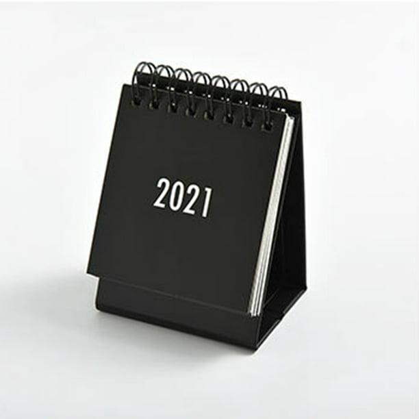 Details about  /Monthly Calendar Calender Desk Portabl Mini Flip 2020-2021 Standing Desktop