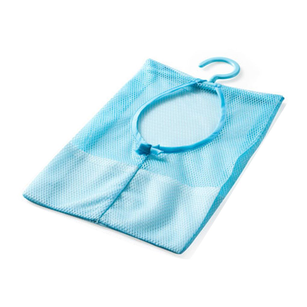 Holiday Clearance Multipurpose Clothespin Storage Mesh Bag for Closet Rack Clothes Clip Collection