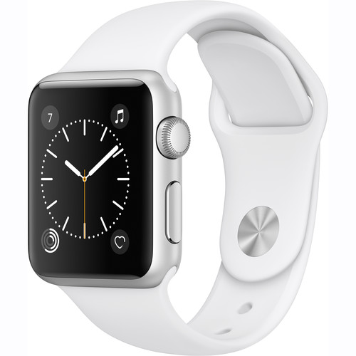 Apple Watch Series 2 38mm Smartwatch (Silver Aluminum Cas...