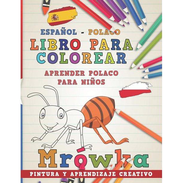 Aprender Idiomas: Libro Para Colorear Español - Polaco I ...