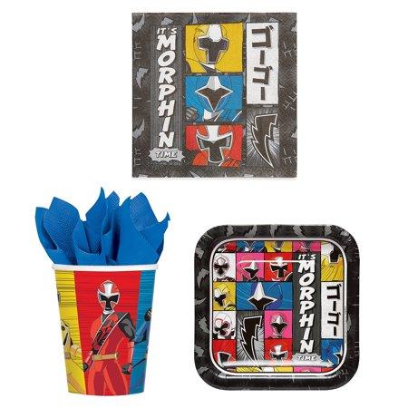 - Power Rangers Party Bundle: 16x 7