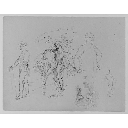 Charles I After Van Dyke Dismounted Equestrian Portrait Colonel George Kitts Coussmaker After Reynolds  From Sketchbook  Poster Print By Thomas Sully  American Horncastle Lincolnshire 1783   1872 Phil