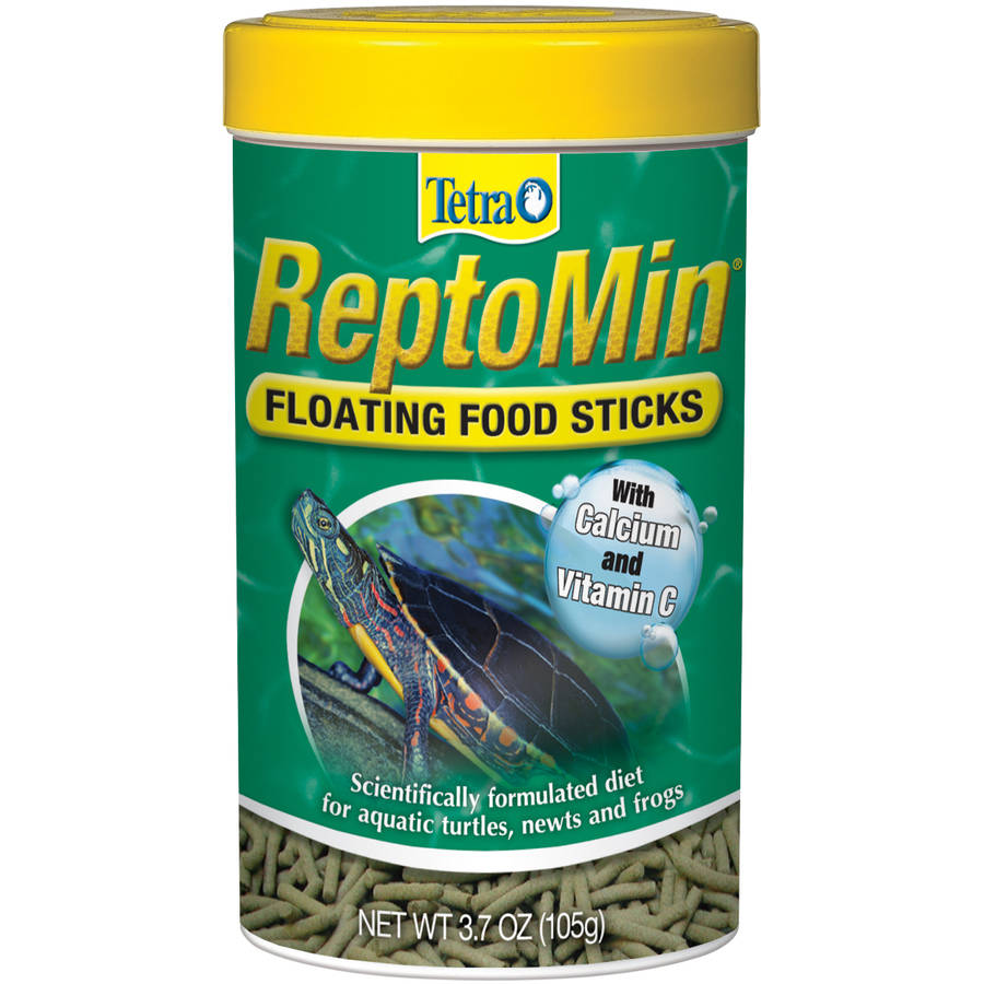 Tetrafauna Reptomin Floating Food Sticks, 3.7 oz