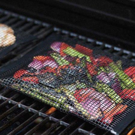 Non-Stick Mesh Grilling Bag Outdoor Picnic Tool Bolsa De Barbacoa Reusable and Easy to Clean Non-Stick BBQ Bake Bag - image 5 of 7