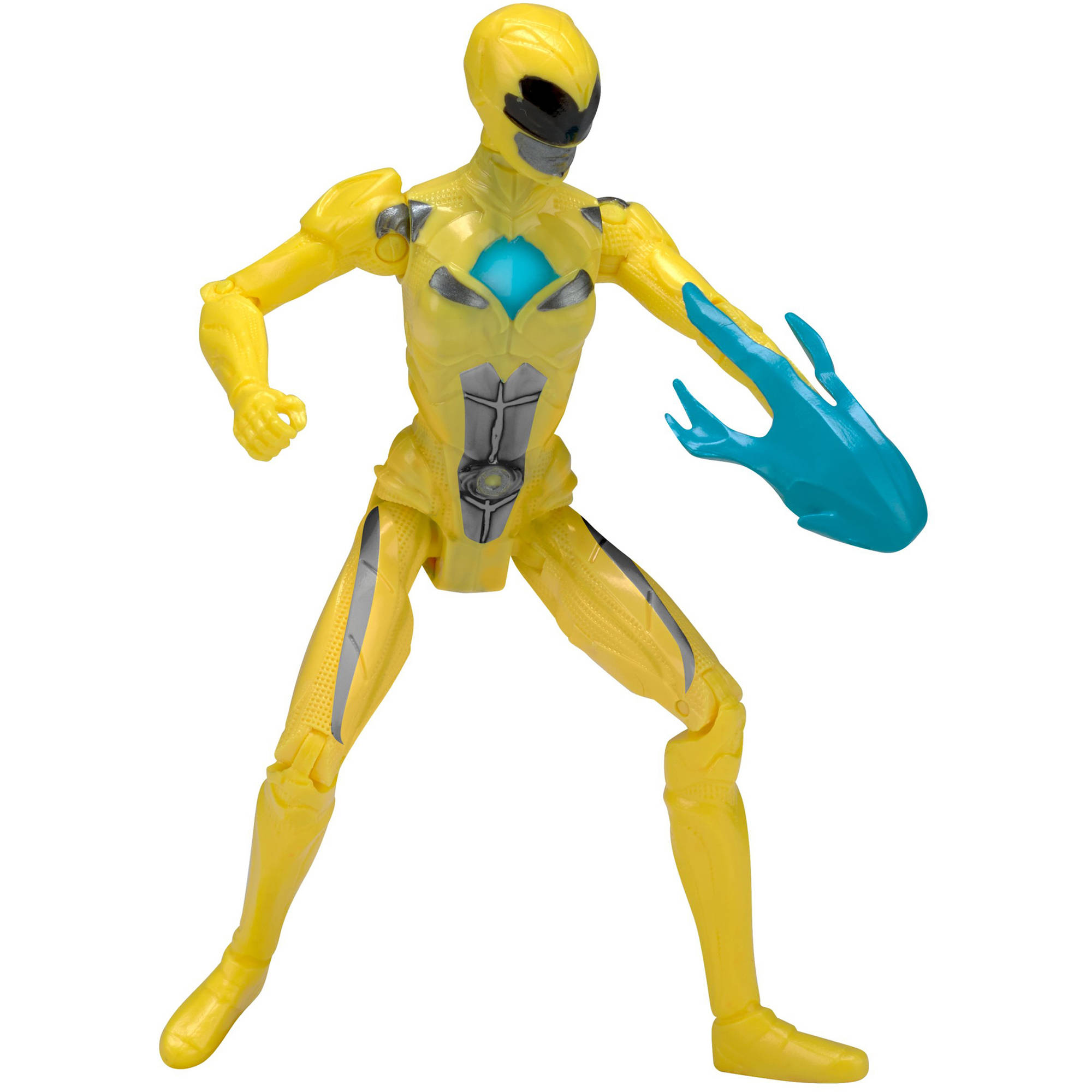 "Mighty Morphin Power Rangers Movie 5"" Yellow Ranger Action Hero"