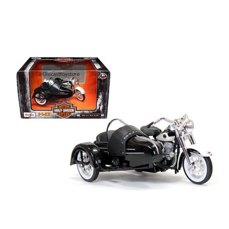 Sidecar Cover - MAISTO MOTORCYCLES 1:18 HARLEY-DAVIDSON CUSTOM 1958 FLH DUO GLIDE WITH SIDECAR 03176