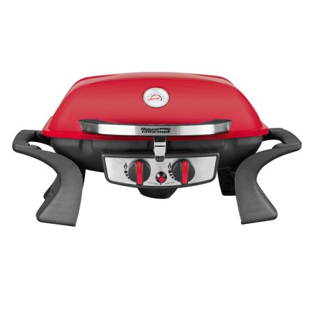 Propane Steam Table - Royal Gourmet PG2001 BBQ Propane Gas Grill 2-Burner Table Top Red