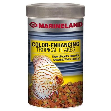 Marineland Color-Enhancing Tropical Fish Food Flakes, 0.78 oz