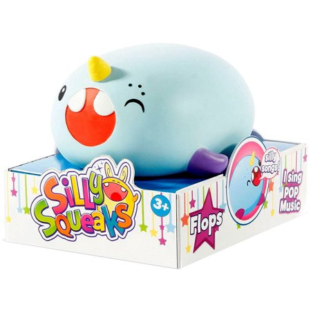 Silly Squeaks Musical Pets - Flops Beauty Collectible Musical Doll