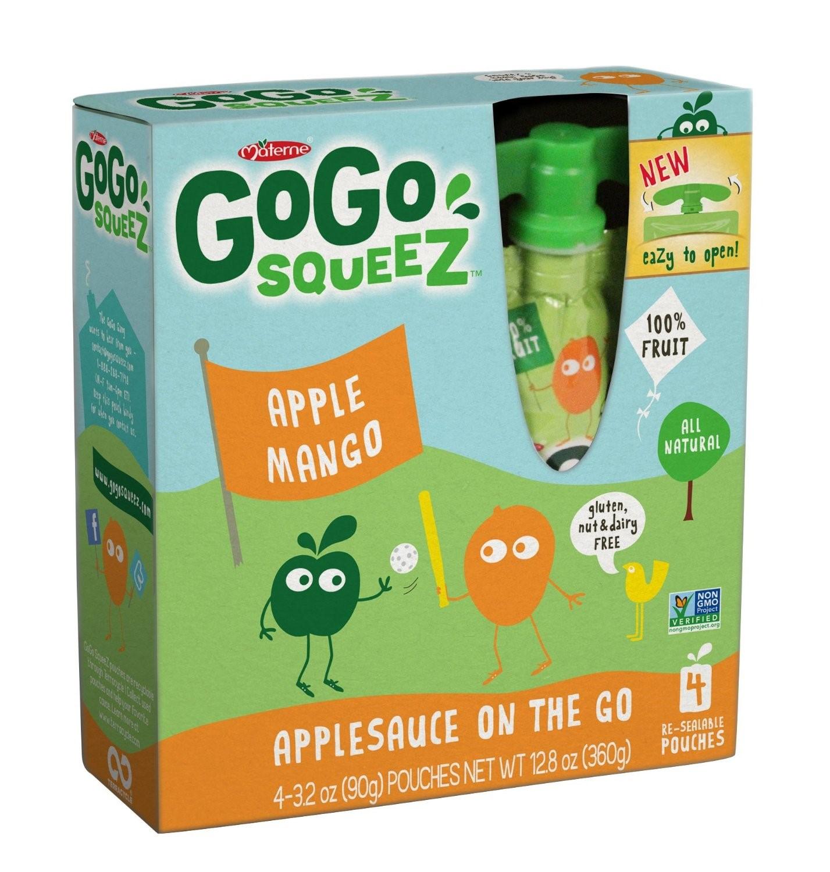 (3 Pack) GoGo Squeez Applesauce On the Go - Apple Mango, 3.2 Ounce