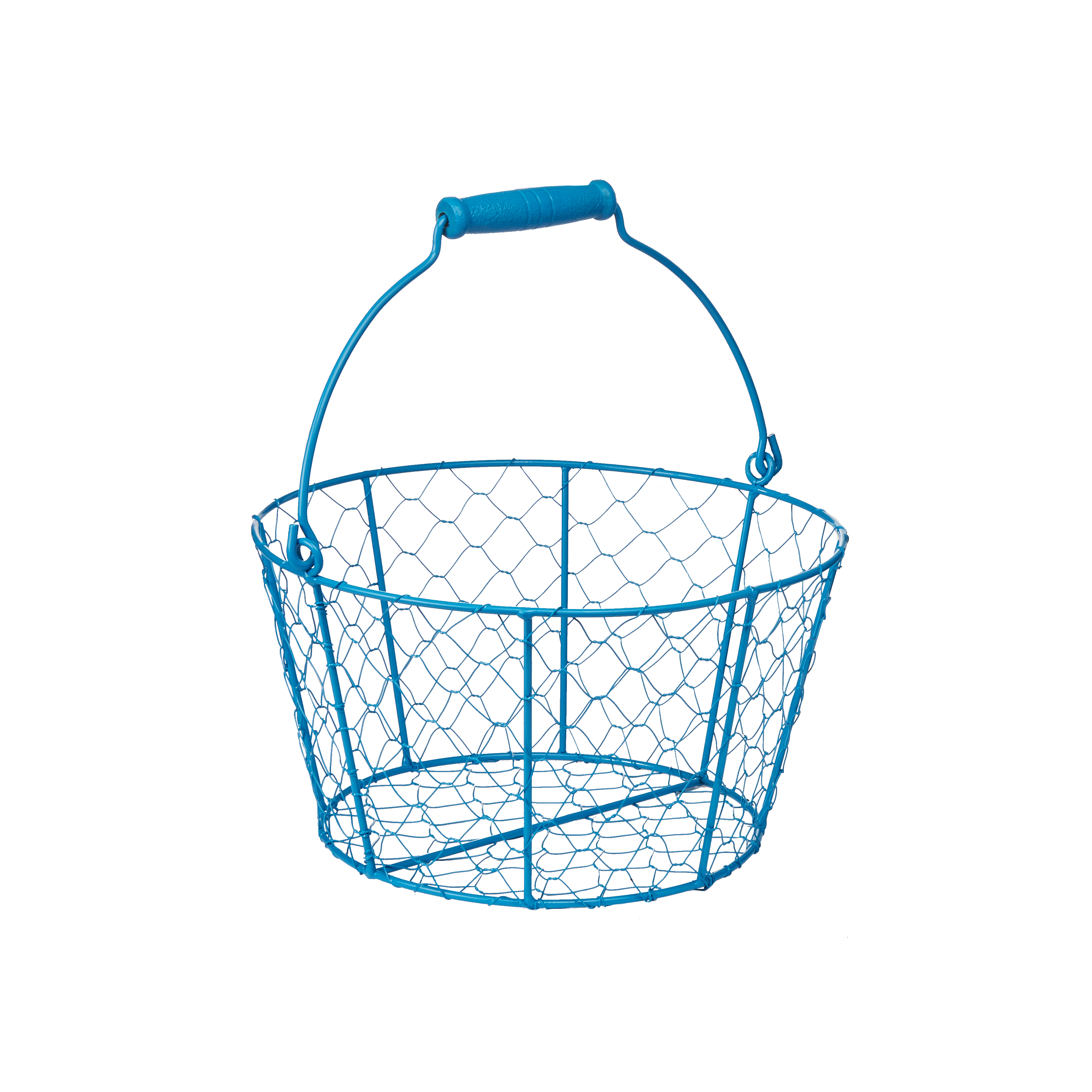 Way To Celebrate Easter Wire Basket, Blue